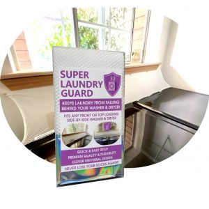 Super Laundry Guard Laudnry Washer Dryer Accessory Launry Room Protect from Falling In Gap Behind Washer Dryer Washer Color