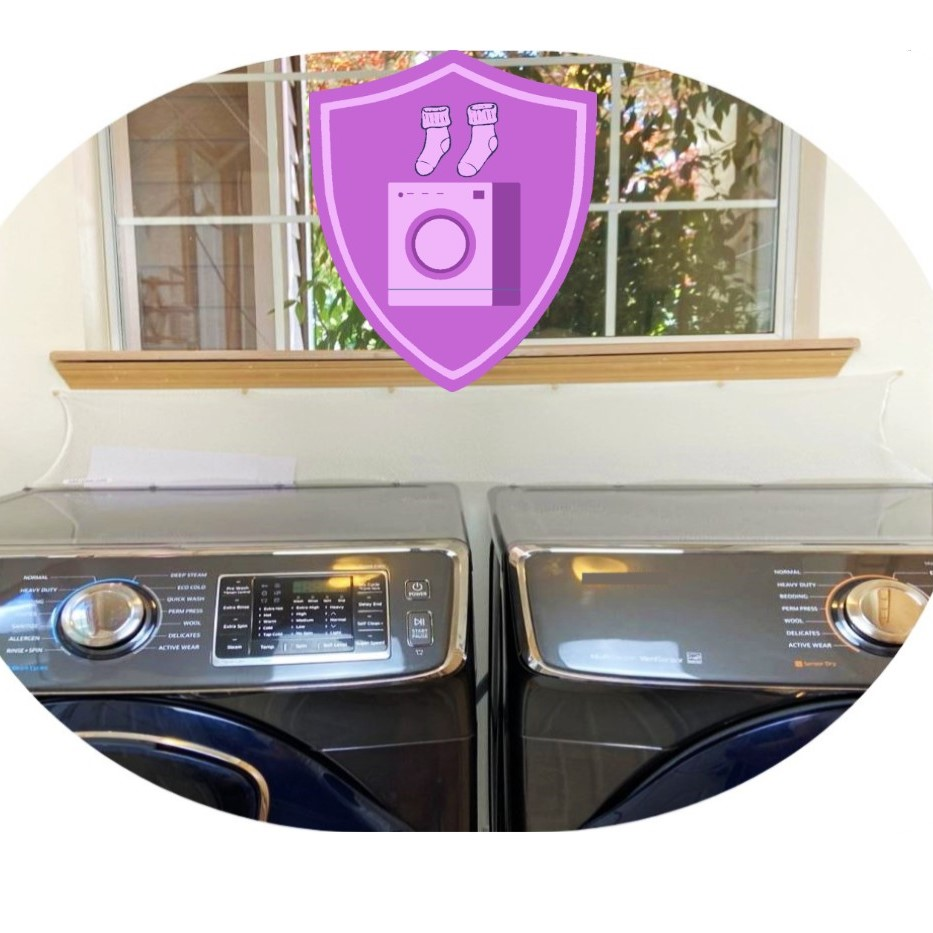 Super Laundry Guard Laundry Washer Dryer Accessory Laundry Room Protect from Falling In Gap Behind Washer Dryer Side by side machine