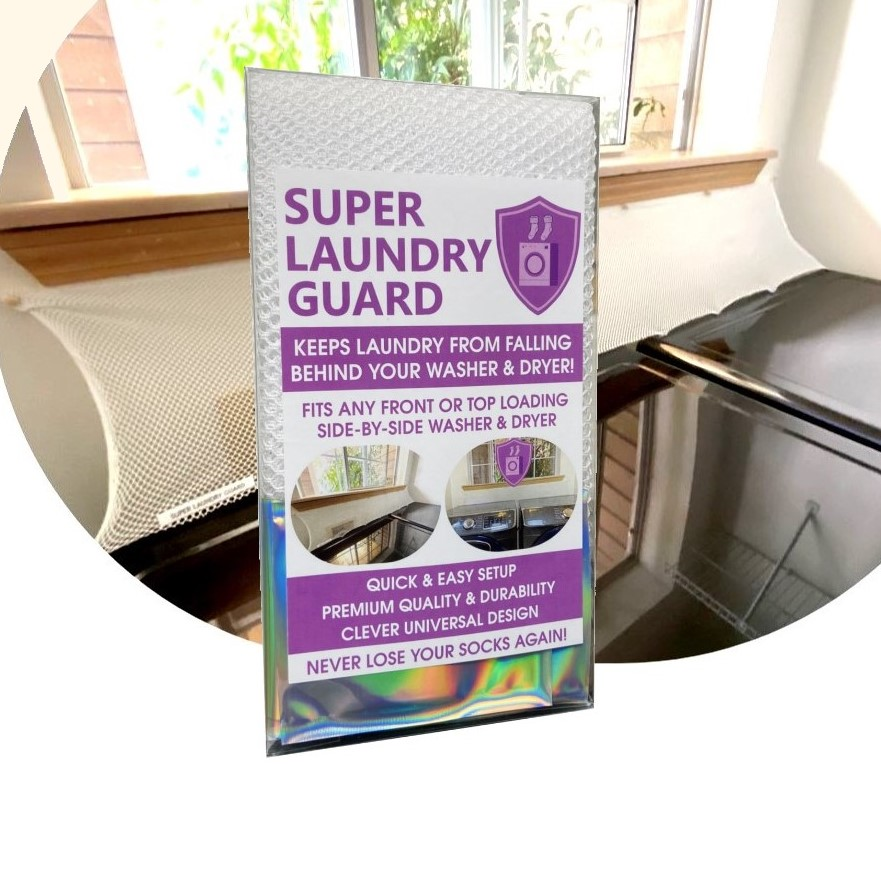 Super Laundry Guard Laundry Washer Dryer Accessory Laundry Room Protect from Falling In Gap Behind Washer Dryer Washer