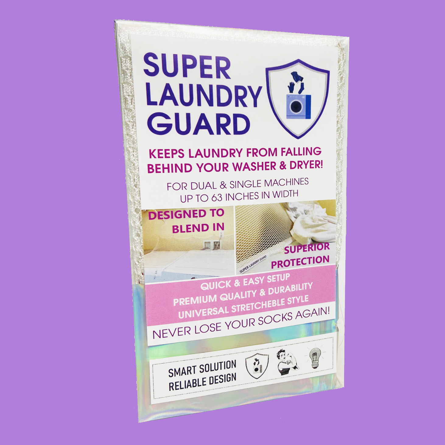 Super Laundry Guard Dryer Guard Washer Guard Clothes Guard Shield Behind Washer 12