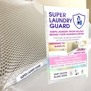 Super Laundry Guard Dryer Guard Washer Guard Clothes Guard Shield Laundry Room Guard 1