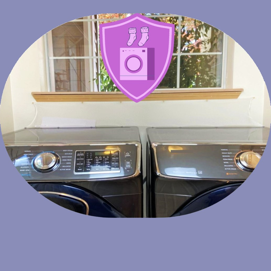 HOME ACCESSORIES Laundry Washer Dryer Accessory Laundry Room Protect from Falling In Gap Behind Washer Dryer Side by side (1)