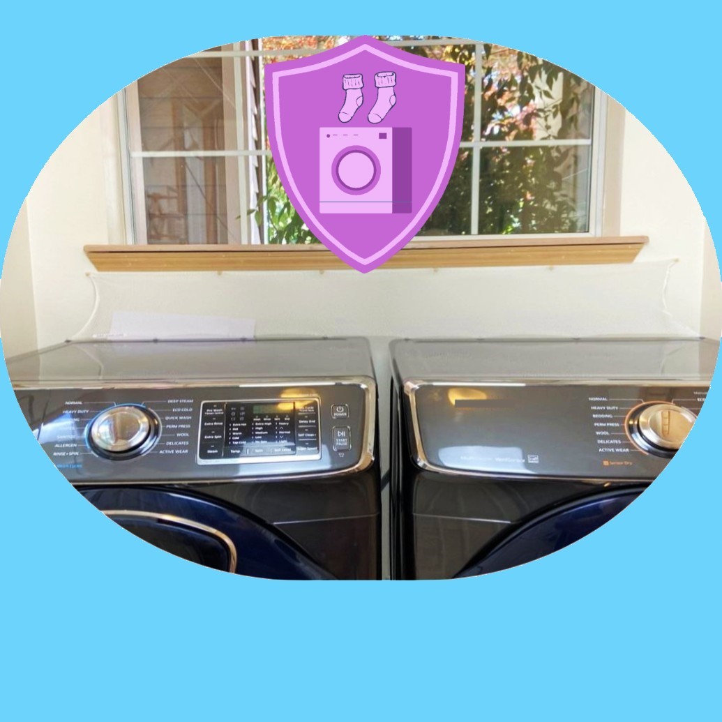 HOME ITEMS Laudnry Washer Dryer Accessory Launry Room Protect from Falling In Gap Behind Washer Dryer Side by side 4