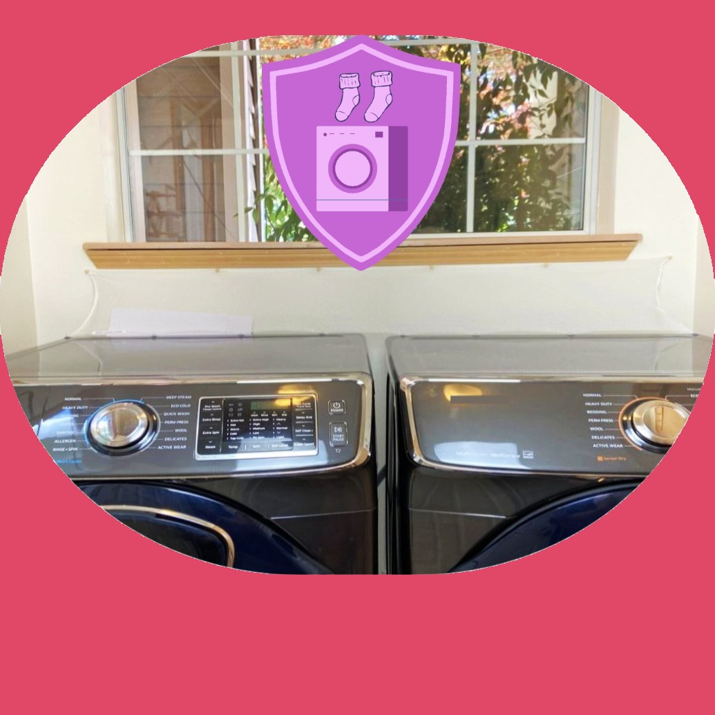 HOUSEHOLD ITEMS Laudnry Washer Dryer Accessory Launry Room Protect from Falling In Gap Behind Washer Dryer Side by side 2