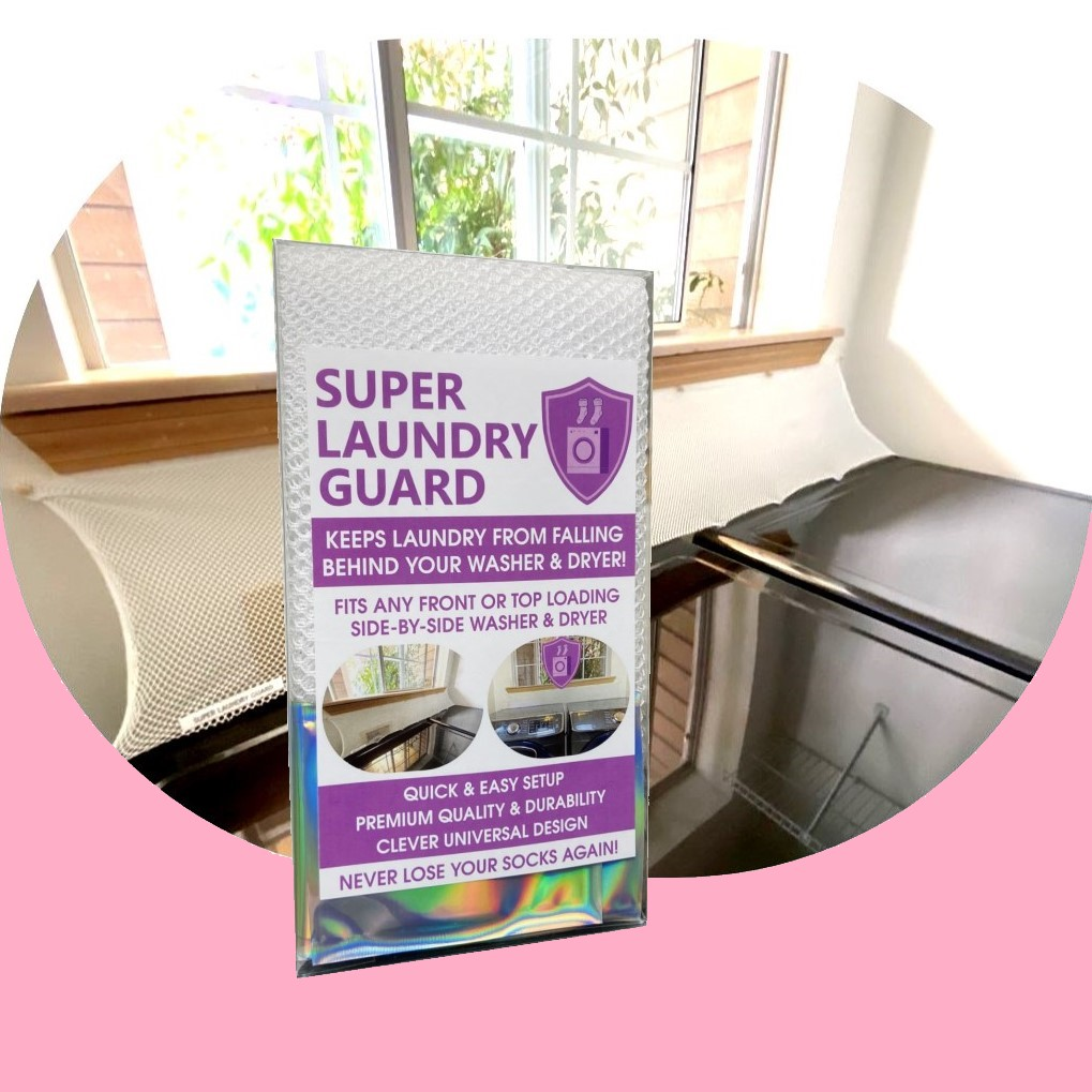 Laundry Guard Washer Dryer Accessory Launry Room Protect from Falling In Gap Behind Washer Dryer Washer Color 5